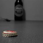 Amstel beer cap