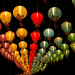 Lanterns into the darkness