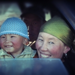 Kyrgyz Mother and Child