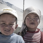 The children of Karakul lake